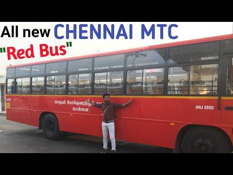 Chennai MTC RedBus (NEW) || Chennai Vlogger Deepan - Tamil