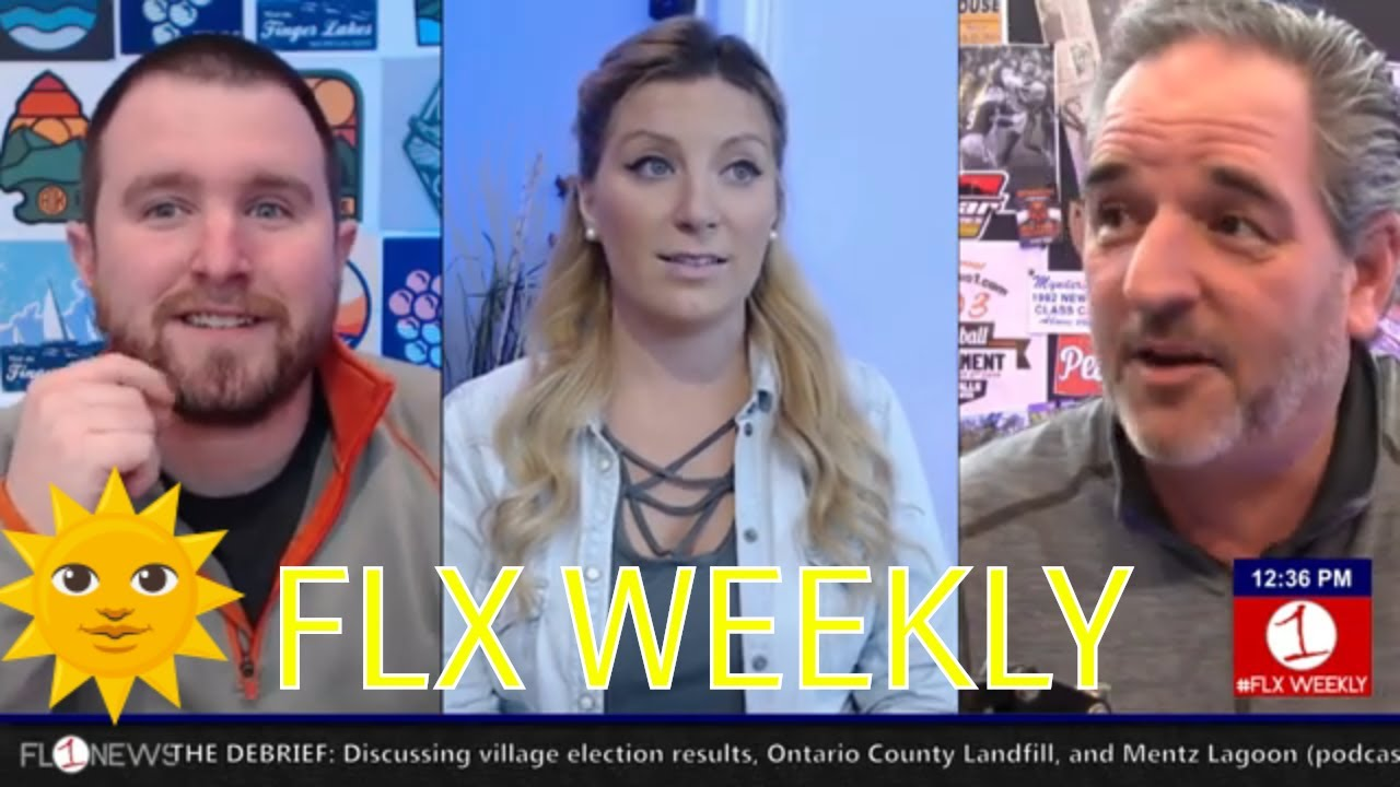 The first day of Spring in the Finger Lakes .::. FLX Weekly w/ Jessica Lahr 3/20/19