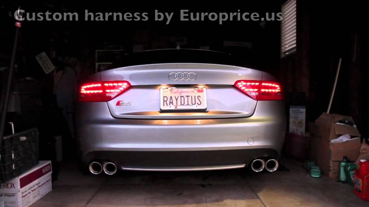 2009 Audi S5 With Led Taillight Retrofit Youtube