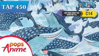 One Piece Tập 450 - Đội Vượt Ngục Lâm Vào Thế Nguy Nan! Chiêu Thức Cấm Venom Demon - Đảo Hải Tặc