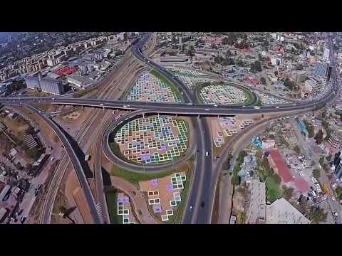 Ethiopia Our beloved Addis Ababa City Looks like this from the Sky view,