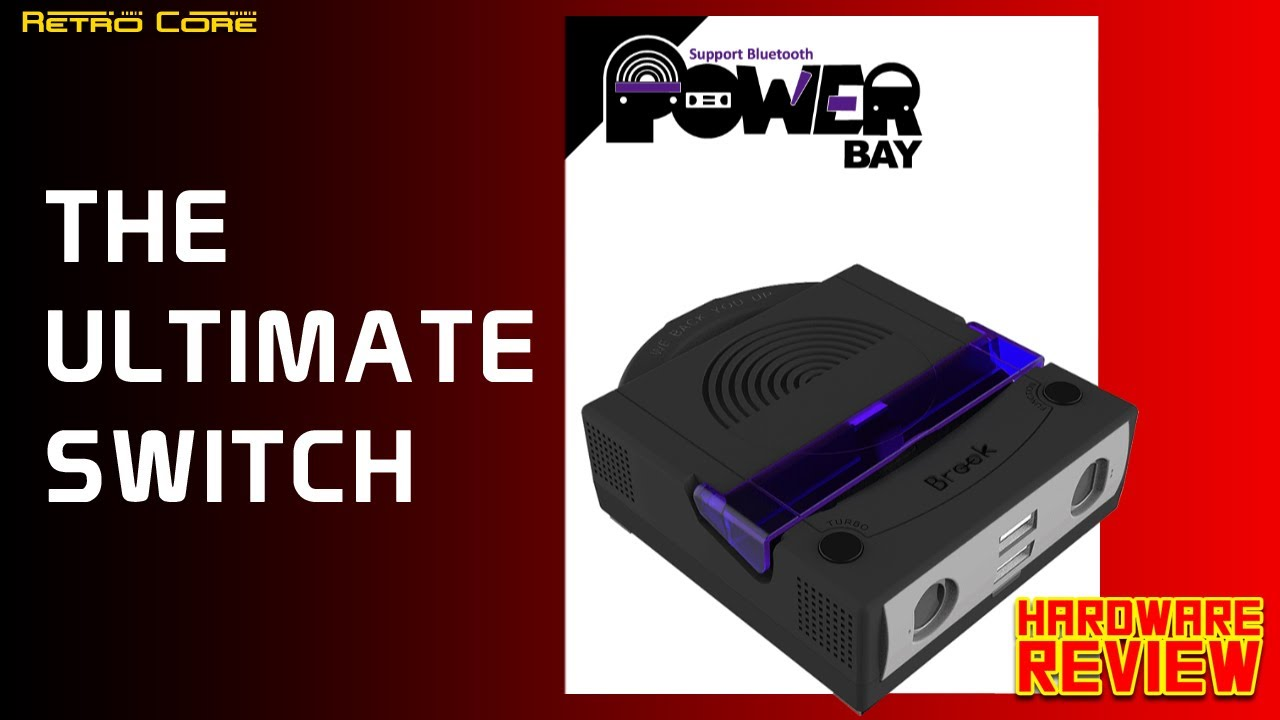 Brook Power Bay for Nintendo Switch