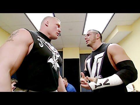 Brock Lesnar throws Matt Hardy through a wall: SmackDown, Nov. 21, 2002 thumbnail