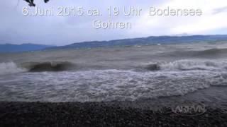 Bodensee/ Lake Constance/Gohren 6.Juni 2015 ca.19 Uhr