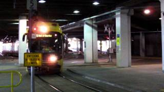 Minneapolis Metro Transit Light Rail Arrives Mall of America