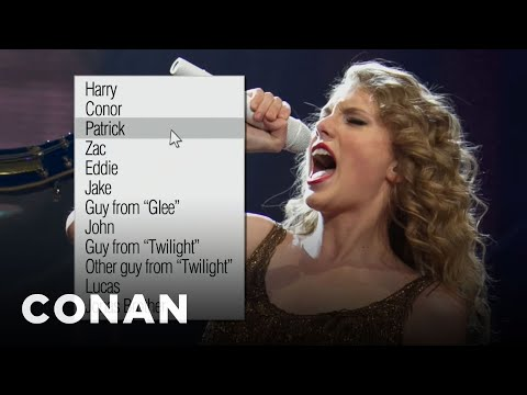 Exclusive: Taylor Swift's New Break-Up Song - CONAN on TBS