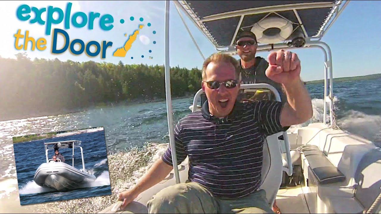 Door County Adventure Rafting - Door County WI Travel Show - YouTube