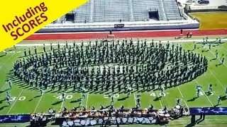 Largest Marching Band in America performs Cyclone -2016 UIL Region