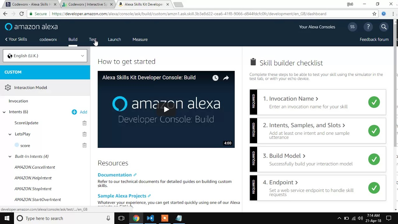 Building an alexa skills as a web service with express nodejs building an alexa skills as a web service with express nodejs mongodb malvernweather Choice Image