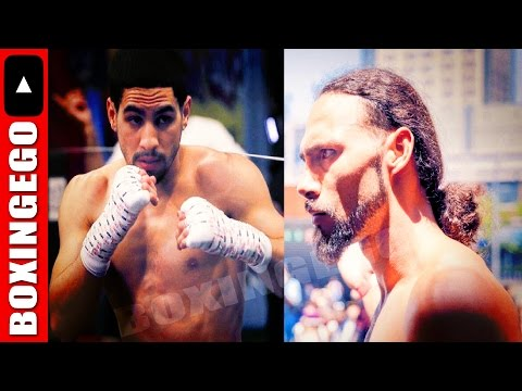 Danny Garcia vs Keith Thurman SIGNED SUPERFIGHT March 2017 (ERM)
