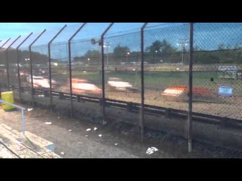 First laps of the sprints @ Gas City I-69 Speedway