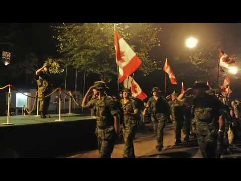 Music Video of Canadian Heroes