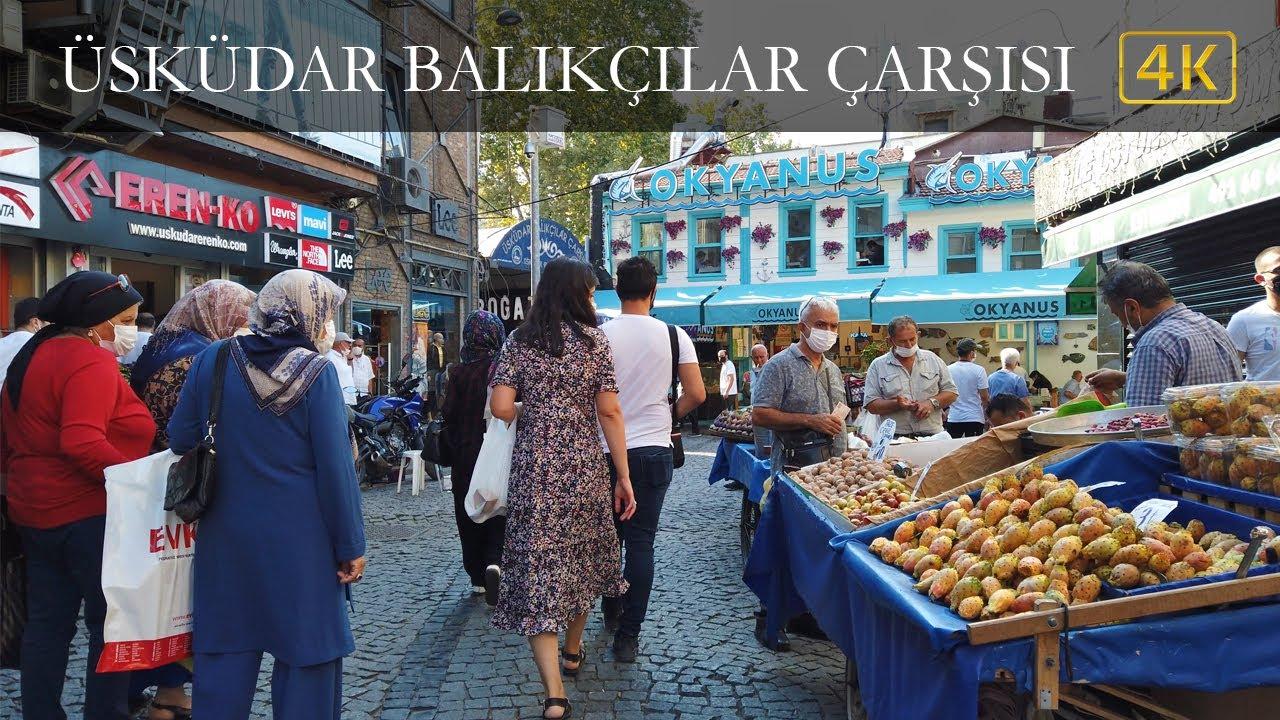 Istanbul Uskudar Fishermen's Bazaar