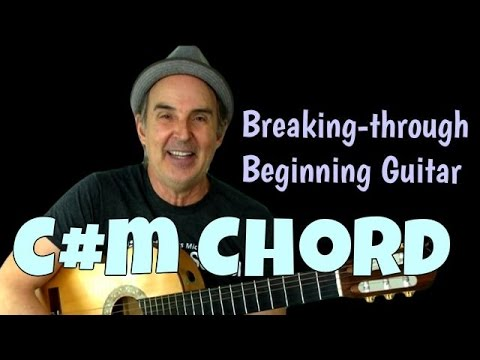 Breaking Through Series   Guitar Chord C#m