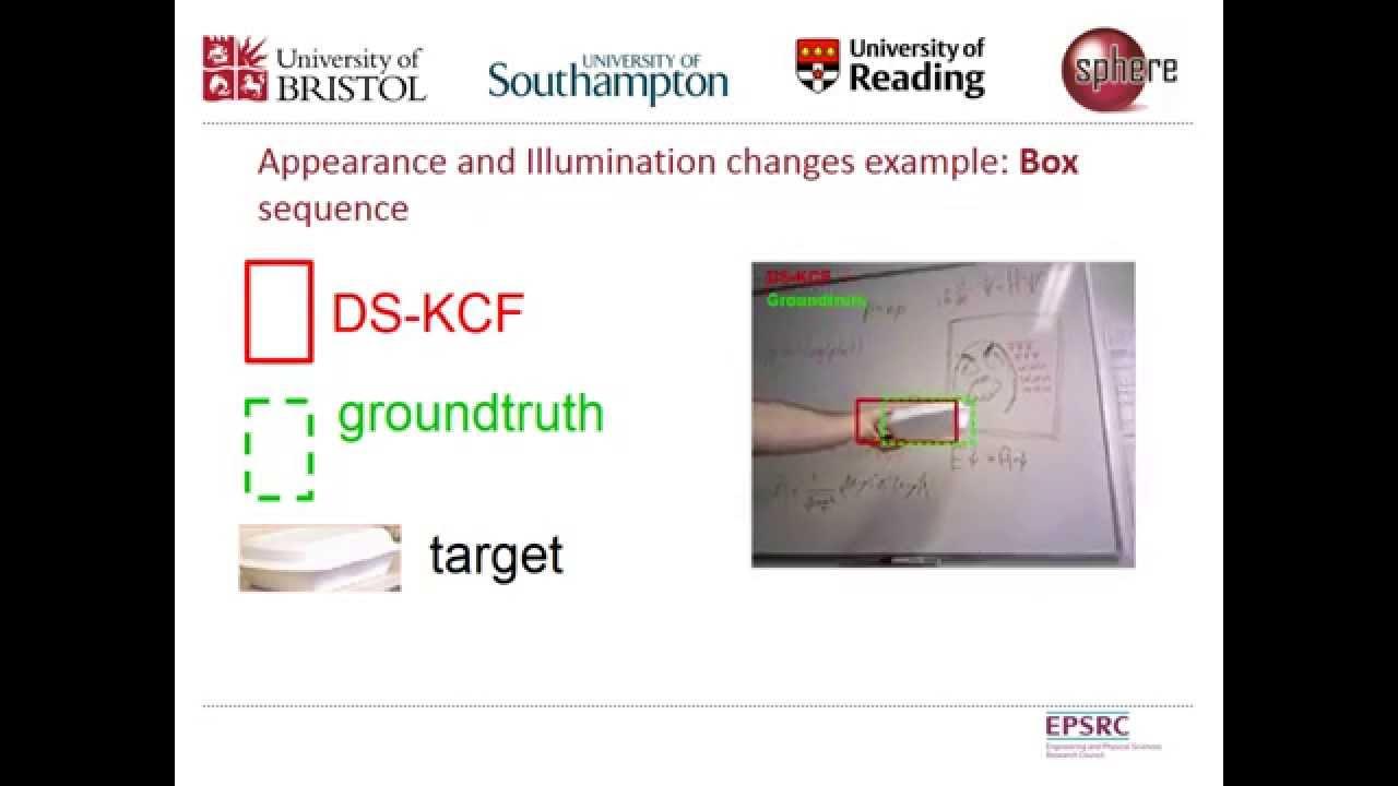 RGB-D Tracking: Depth Scaling Kernelised Correlation Filters