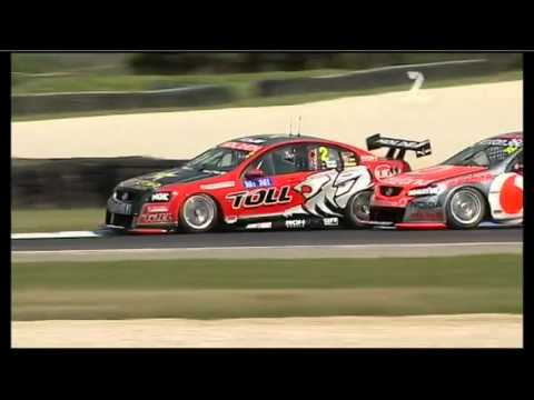 V8 2011 Event 9 (Phillip Island) Qualifying Race 1 Highlights