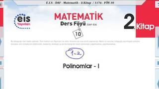 Matematik 2 - Polinomlar 1 📏
