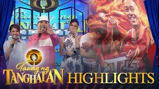 Tawag ng Tanghalan: Vice Ganda greets the family of a basketball player on-air