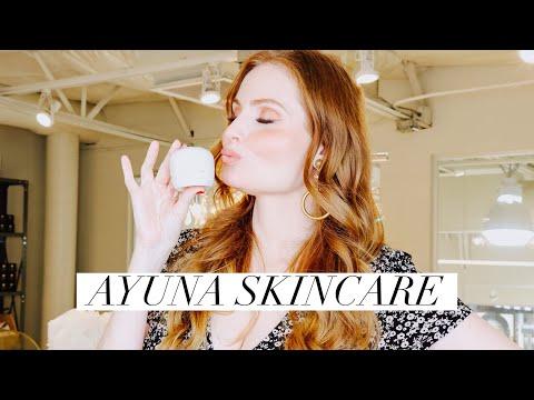 New Brand Alert   Ayuna Skincare   Review & Demo  Citrine Natural Beauty Bar