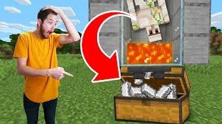 Making An Iron Golem Farm On Hardcore!   Minecraft