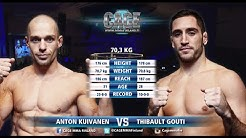 CAGE 33: Anton Kuivanen vs Thibault Gouti