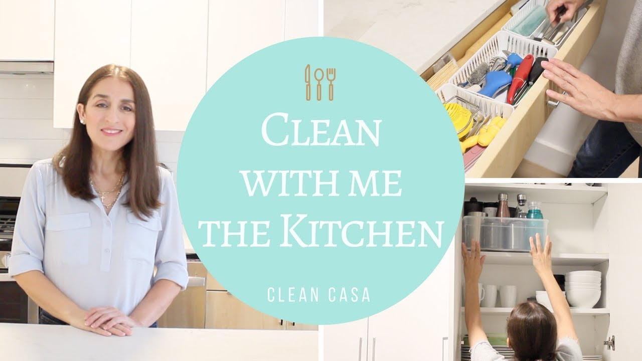 Clean with me: Kitchen! | Clean Casa - YouTube