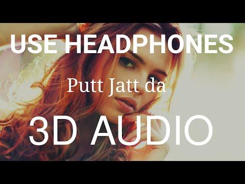 Putt Jatt Da : Bass Boosted - Diljit Dosanjh | Latest Punjabi Song 3d | 3d Punjabi Songs 2019
