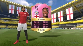 FUTTIES WINNER - 85 RAHEEM STERLING SBC [COMPLETED]
