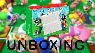 New Nintendo 3DS Super Mario White Edition Unboxing!