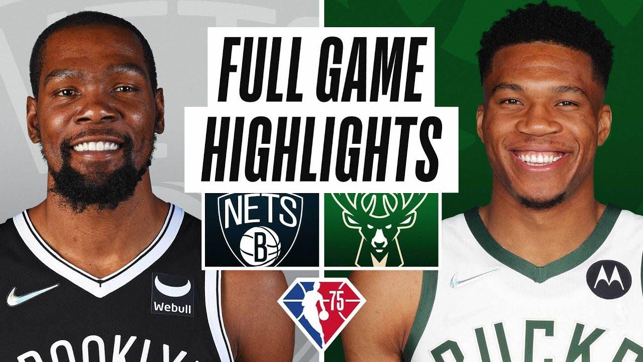Nets vs. Bucks - Game Recap - October 19, 2021 - ESPN