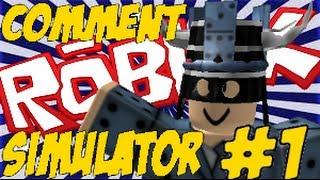 ROBLOX Comment simulator v1.00 *BONUS FORUM SIM SCENE*