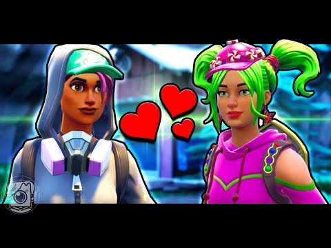 TEKNIQUE FALLS IN LOVE WITH ZOEY - A Fortnite Short Film