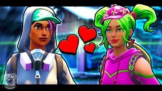 ZOEY FALLS IN LOVE WITH TEKNIQUE - A Fortnite Short Film