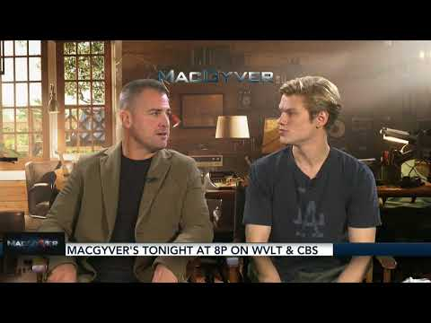 George Eads and Lucas Till Interview with Brittany Tarwater (Pick Vols-Dawgs Game)