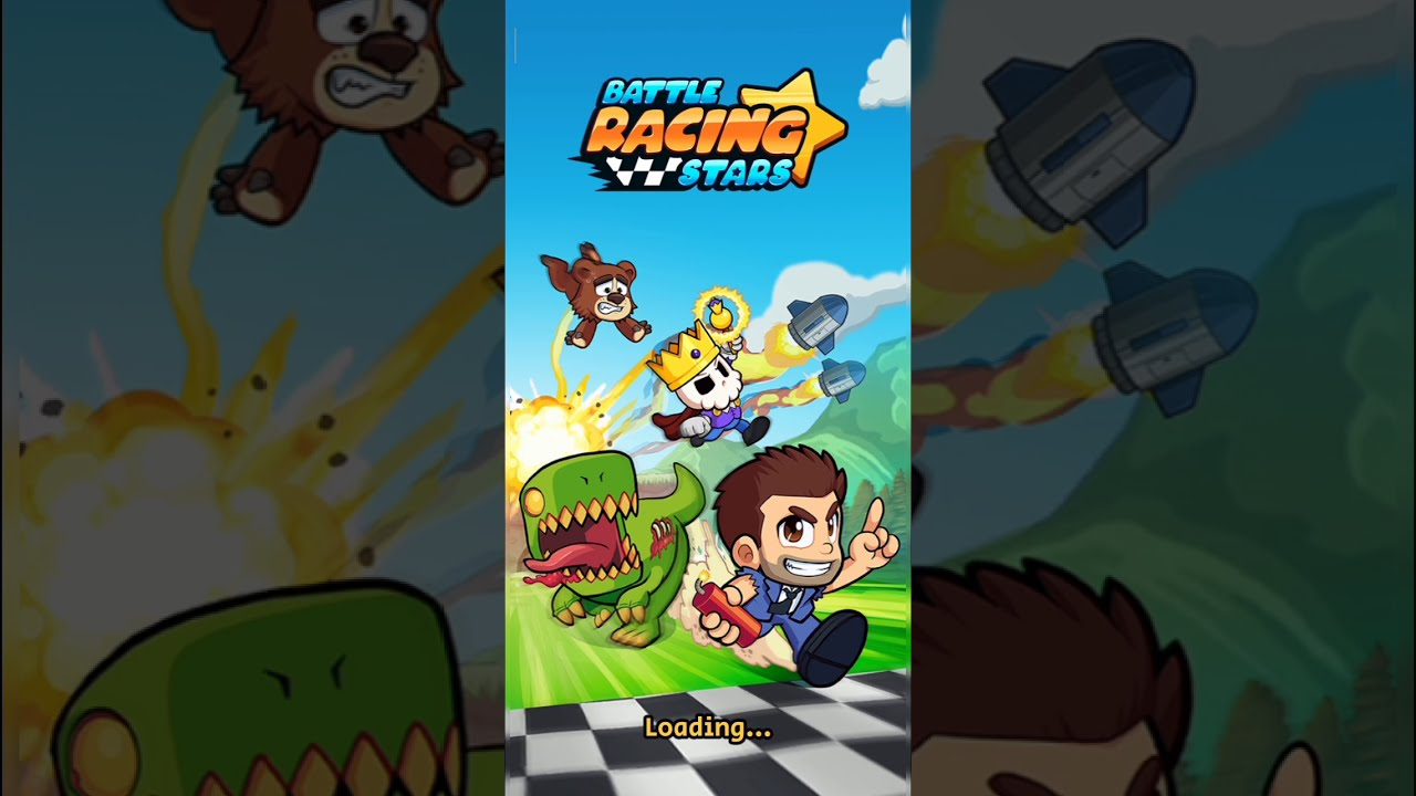 Battle Racing Stars gameplay Android-iOS