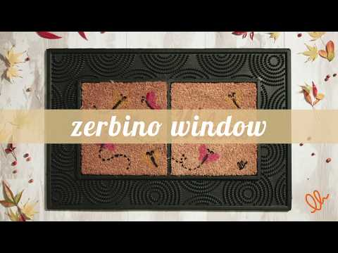 WINDOW ZERBINO IN GOMMA E COCCO