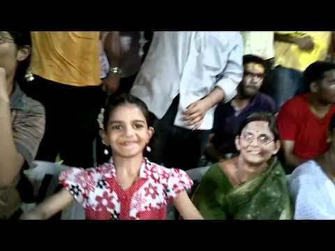Crowd at the Chennai Super Kings vs. Delhi Daredevils
