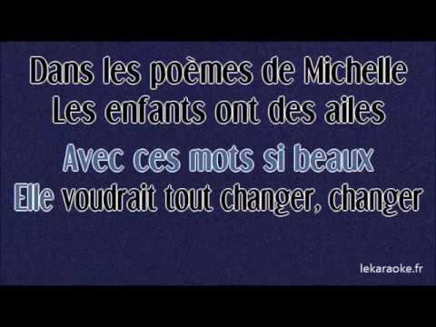 Karaoke Teri Moïse Les Poèmes De Michelle