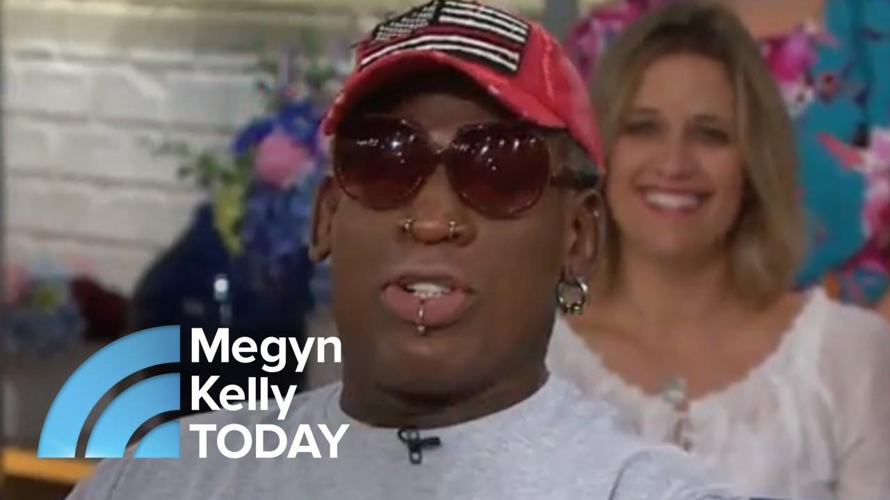 Dennis Rodman Describes The First Time He Met Kim Jong Un   Megyn Kelly TODAY