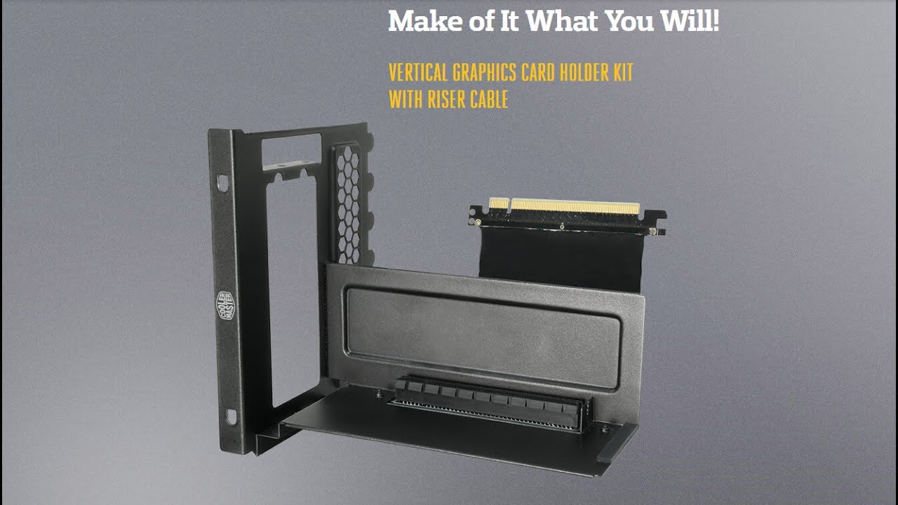 Coolermaster Vertical Graphics Card Holder Kit Phụ Kiện
