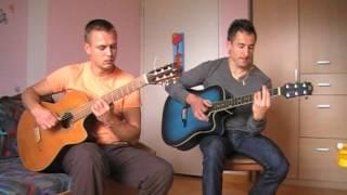 Гимн России (СССР), на двух гитарах