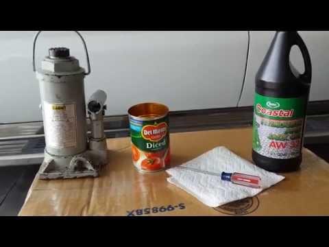 Bottle Jack Oil Change