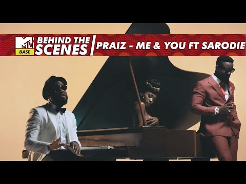 Behind the scenes of Praiz's Me and You ft Sarkodie