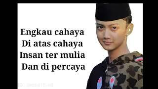 Download Lyric Lagu Senandung Rindu Syubbanul Muslimin..editor : @rizqi15_atl