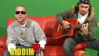 Collie Buddz - Young Gal LIVE RIDDIM UP ON THE GREEN SCREEN