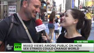Sex strike power to make the world a better place?