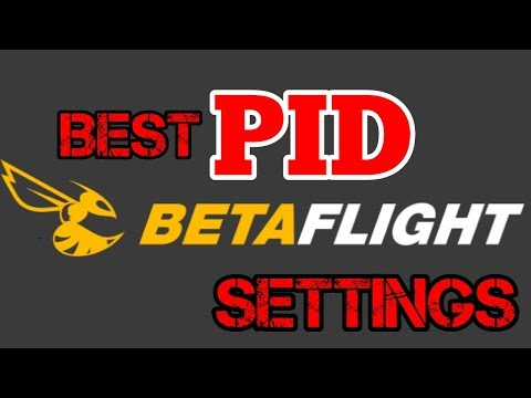 The BEST PID/ Rate Settings In Betaflight!! EXPLAINED