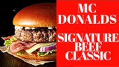 ★Mc Donalds★ Signature Beef Classic Review