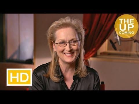 Meryl Streep interview on Florence Foster Jenkins, Hugh Grant, Simon Helberg, Stephen Frears
