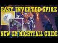 - DESTINY 2 | Easy INVERTED SPIRE GM Nightfall! Tips, Tricks & Exploits to get Hung Jury ADEPT!!!
